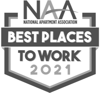 2021 NAA Best Places To Work Logo